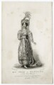 Mary Ann Paton (Mrs Wood) as Mandane, by Thomas Woolnoth, published by  John Cumberland, after  Thomas Charles Wageman - NPG D38565