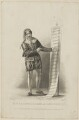 Edward Fitzwilliam as Leporello, by Thomas Woolnoth, published by  John Cumberland, after  Thomas Charles Wageman - NPG D38568