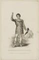 John Braham as Prince Orlando, by Thomas Woolnoth, published by  John Cumberland, after  Thomas Charles Wageman - NPG D38569