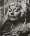 Bust of Ida Kar by Nikogos Nikogosyan, by Ida Kar - NPG x134088