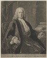 Richard Mead, by Richard Houston, after  Allan Ramsay - NPG D38350