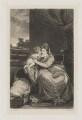 Elizabeth Lamb (née Milbanke), Viscountess Melbourne with Peniston Lamb as a child, by Samuel William Reynolds, or by  Samuel William Reynolds Jr, after  Sir Joshua Reynolds - NPG D38358