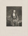 Christian Methuen (née Cobb), by Robert Bowyer Parkes, published by  Henry Graves & Co, after  Sir Joshua Reynolds - NPG D38384