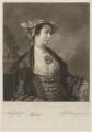 Miss Meux, by John Faber Jr, after  Sir Joshua Reynolds - NPG D38389