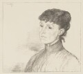 Alice Meynell (née Thompson), by Sir William Rothenstein - NPG D38397