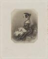 Madame van de Weyer (née Bates), by William Henry Mote, after  Alfred Edward Chalon - NPG D38806