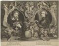 Sir Peter Paul Rubens; Sir Anthony van Dyck, by Paulus Pontius (Paulus Du Pont), after  Sir Anthony van Dyck - NPG D38809