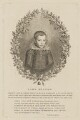John Milton, by Giovanni Battista Cipriani, after  Cornelius Johnson - NPG D38830