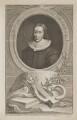 John Milton, by Jacobus Houbraken, published by  John & Paul Knapton - NPG D38835