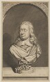 John Milton, by George Vertue, after  Jonathan Richardson, after a bust attributed to  Edward Pearce - NPG D38836