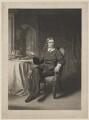 John Milton, by James Faed the Elder, published by  Henry Graves & Co, after  John Faed - NPG D38838