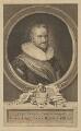 Horace Vere, Baron Vere of Tilbury, by George Vertue, after  Michiel Jansz. van Miereveldt - NPG D39230