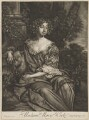 Mary (née Kirke), Lady Vernon, published by Alexander Browne, after  Sir Peter Lely - NPG D39235