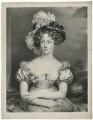 Marie-Caroline de Bourbon-Deux Siciles, Duchesse de Berry, by Pierre Louis ('Henri') Grevedon, after  Sir Thomas Lawrence - NPG D39239