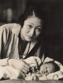 Madame Wellington Koo (née Hui-lan Oei) with Yu-chang Koo, by Oscar Hardee (Oscar Hardee Blyfield), for  Henry Walter ('H. Walter') Barnett - NPG x45435