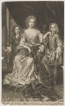 James Scott, Earl of Dalkeith; Anna Scott, Duchess of Monmouth and Duchess of Buccleuch; Henry Scott, 1st Earl of Deloraine, by and published by John Smith, after  Sir Godfrey Kneller, Bt - NPG D38871