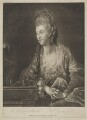 Mary (née Roche), Baroness Nolcken when Mrs Le Maistre, by Valentine Green, published by  Josiah Boydell, after  Edward Francis Cunningham (Calze) - NPG D38980