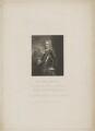 John Montagu, 2nd Duke of Montagu, by William Finden, published by  Harding & Lepard, after  William Derby, after  Sir Godfrey Kneller, Bt - NPG D38879