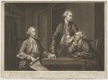 William Beckford; John Sawbridge; James Townsend, by Richard Houston, published by  John Smith of Cheapside, and published by  Robert Sayer - NPG D39268