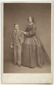 John Henry Wellington Graham Loftus, 4th Marquess of Ely; Jane Loftus (née Hope-Vere), Marchioness of Ely, by John & Charles Watkins, published by  Mason & Co (Robert Hindry Mason) - NPG x134191