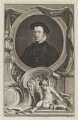 Thomas Howard, 4th Duke of Norfolk, by Jacobus Houbraken, after  Hans Eworth - NPG D38984