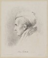 James Northcote, by James Lonsdale, printed by  Engelmann & Co - NPG D38784