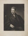 James Moore, by Henry Cousins, published by  Octavius Young Thiselton, after  James Lonsdale - NPG D38934
