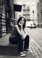 Zoë Heller, by Jason Bell - NPG x134057
