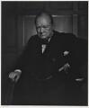 Winston Churchill, by Yousuf Karsh - NPG P1368