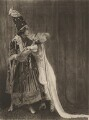 Adolph Bolm as the Prince and Tamara Karsavina as Queen Thamar in 'Thamar', by Emil Otto ('E.O.') Hoppé - NPG x134198