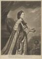 Elizabeth Percy (née Seymour), Duchess of Northumberland, by Richard Houston, printed for  Robert Sayer, after  Sir Joshua Reynolds - NPG D39318