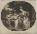 A Lady and her Children, by and published by Thomas Watson, and published by  William Dickinson, after  Daniel Gardner - NPG D39323