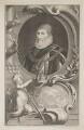 Charles Howard, 1st Earl of Nottingham, by Jacobus Houbraken, published by  John & Paul Knapton, after  Daniel Mytens - NPG D39327