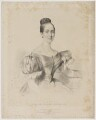 Clara Novello, by William Sharp, printed by  Day & Haghe, published by  Joseph Dickinson, and published by  Joseph Alfred Novello, after  Firmin Salabert - NPG D39333