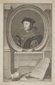 Sir Thomas More, by Jacobus Houbraken, published by  John & Paul Knapton, after  Hans Holbein the Younger - NPG D39003
