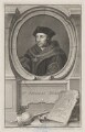 Sir Thomas More, by Jacobus Houbraken, published by  John & Paul Knapton, after  Hans Holbein the Younger - NPG D39004