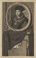 Sir Thomas More, by Pieter Stevens van Gunst, after  Adriaen van der Werff - NPG D39007