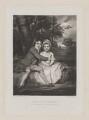 John Parker, 1st Earl of Morley; Theresa Villiers (née Parker), by Samuel William Reynolds, after  Sir Joshua Reynolds - NPG D39034