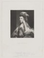 Henrietta Morris (née Musgrave), Lady Morris, by George Salisbury Shury, published by  Henry Graves & Co, after  Sir Joshua Reynolds - NPG D39050