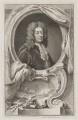 Edward Russell, Earl of Orford, by Jacobus Houbraken, published by  John & Paul Knapton, after  Sir Godfrey Kneller, Bt - NPG D39364