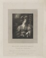 Charlotte Isabella (née Irby), Countess of Orkney, by John Cochran, published by  Whittaker & Co, and published by  Martin Colnaghi, after  Emma Eleanora Kendrick - NPG D39378