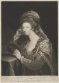Frances Carpenter (née Manners, later Anstruther), Countess of Tyrconnell, by David Martin - NPG D39458