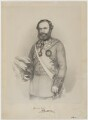 Sir James Outram, 1st Bt, by Richard James Lane, printed by  M & N Hanhart, after  Thomas Brigstocke - NPG D39393