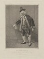 John Quick as Don Lewis in 'Love Makes a Man', by Jean Condé, published by  Thomas Palser, after  Samuel De Wilde - NPG D39152