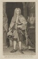 Edward Harley, 2nd Earl of Oxford, by George Vertue, after  Michael Dahl - NPG D39488