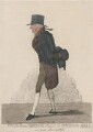 Sir Isaac Pennington ('A walk from Bridge Street to St John's Hall'), by and published by Richard Dighton - NPG D10751