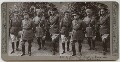 John Denton Pinkstone French, 1st Earl of Ypres with his aides-de-camp, published by Realistic Travels - NPG x134378