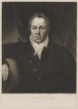 John Tomes, by Henry Meyer, after and published by  Thomas Kirkby - NPG D39638