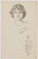 Blanche Tomlin, after Howard van Dusen, and after  John Hassall - NPG D39641