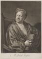 Jacob Tonson I, by John Faber Jr, after  Sir Godfrey Kneller, Bt - NPG D39646